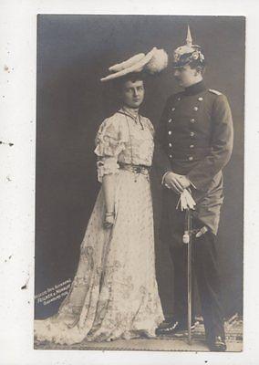 Prinz Eitel Friedrich 1906 RP Postcard Germany Royalty 038b