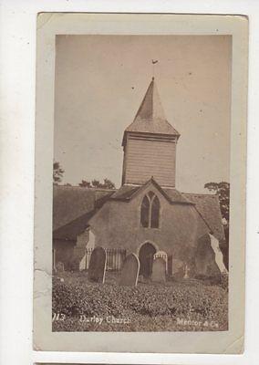 Durley Church Hampshire 1906 RP Postcard Mentor 645b