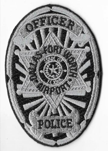 Dallas-Fort Worth Airport Police, Texas Officer Breast Patch
