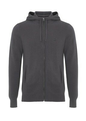 Merc London Bragg Hoody Grey Medium rrp £70 TD081 BB 01