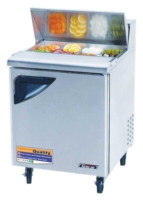 Turbo Air 28 Sandwich Salad Prep Cooler 8 Pans Tst28sd