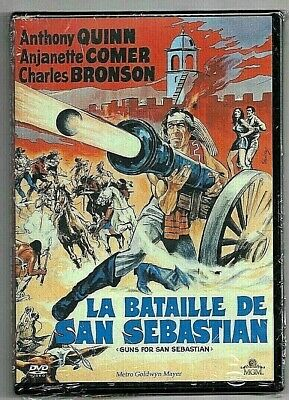 DVD - LA BATAILLE DE SAN SEBASTIAN (ANTHONY QUINN + CHARLES BRONSON) WESTERN