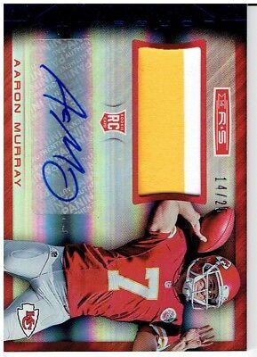 Aaron Murray 2014 Panini Rookies & Stars Autograph Jersey Card #RMAM 14/25 for sale  Oceanside