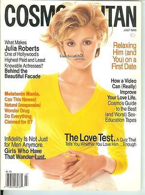 COSMOPOLITAN Magazine July 1996 TRISH GOFF Cover