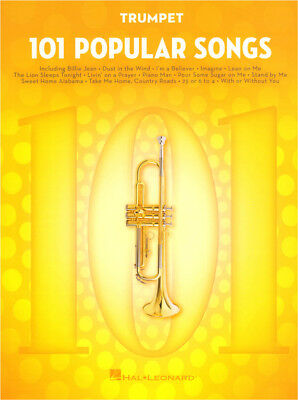 101 Popular Songs Trumpet Klassische Pop Songs Noten für Trompete