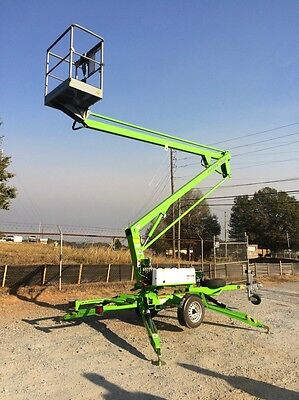 New 2018 Niftylift Tm34hg Tow Behind Niftylift Boom Lift 40 Work Height