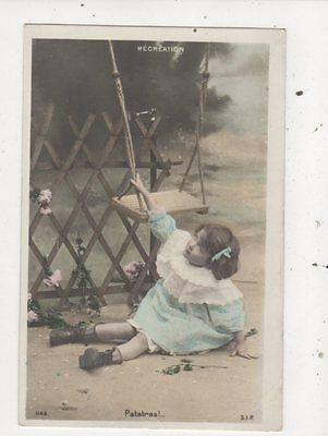 Patatras Children France Vintage U/B RP Postcard 880a