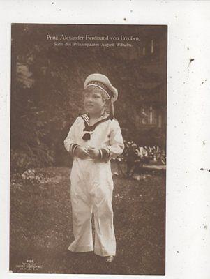 Prinz Alexander Ferdinand Von Preussen RP Postcard Germany Royalty 043b