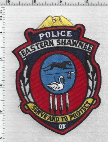 Eastern Shawnee Police (Oklahoma - Tribal) 1st Issue Shoulder Patch