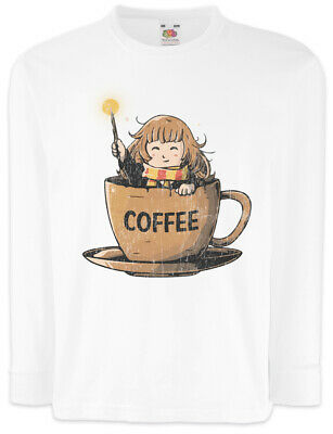 Langarm T-Shirt Hermine Harry Fun Granger Potter Kaffee (Hermine Granger Kinder)