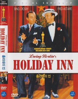 Holiday Inn  1942  Bing Crosby   Fred Astaire Dvd Used  Fast Shipping