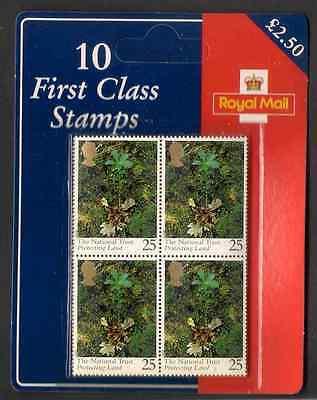 GB 1995 National Trust £2.50 1st Class Souvenir Retail Special Presentation Pack