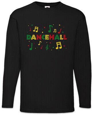 Rasta Dancehall Notes Long Sleeve T-Shirt Babylon Irie Reggae Jamaica Rastafari