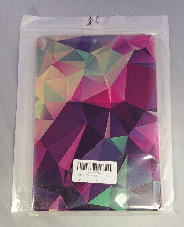Ipad Pro 10.5 Case Beautiful Design Stained Glass Purple Gre