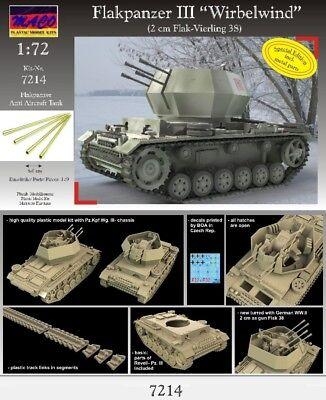 "MACO 1/72 Flakpanzer III ""Wirbelwind"" (7214-Special Edition)"
