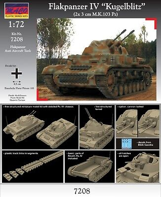 "MACO 1/72 Flakpanzer IV ""Kugelblitz"" (7208)"