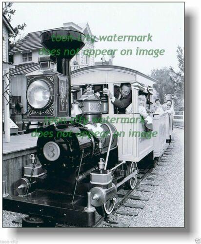 Walt Disney Disneyland Mine Train Natures Wonders Ride 1950s press tour