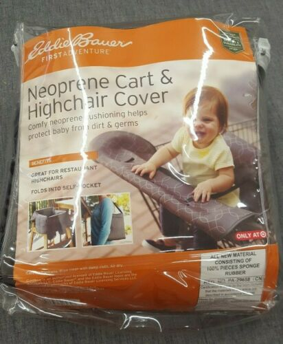 NEW Eddie Bauer Neoprene Shopping Cart And Highchair Cover
