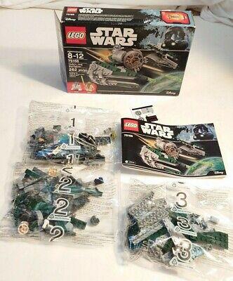 LEGO 75168 Star Wars Yoda's Jedi Starfighter (New In Open Box)