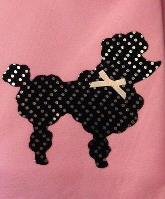 NIP 1950's Pink Poodle Skirt GIRL'S Size XL 12-14 * Bonus Polka Dot Scarf *](Polka Dot Poodle Skirt)