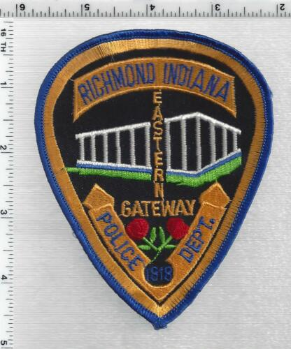 Richmond Police (Indiana) 3rd Issue Shoulder Patch