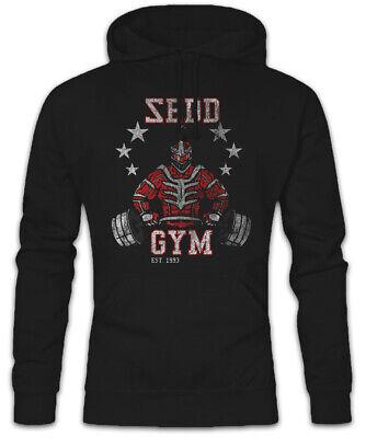 Sedd Gym Hoodie Kapuzenpullover Power Fun Train Pumpen Rangers Gewichtheben