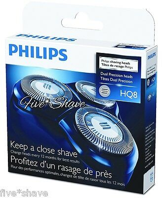 NEW PHILIPS HQ8 SENSOTEC Shaver/Razor HQ 8 HEADS SET
