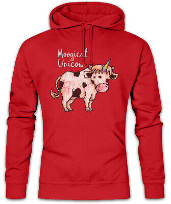 Moogical Unicow Hoodie Kapuzenpullover Unicorn Fun Rainbow Cow - Kuh Hoodie