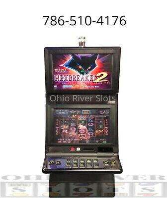 IGT G20 Hexbreaker 2 Slot Machine (Ticket Printer, COINLESS)