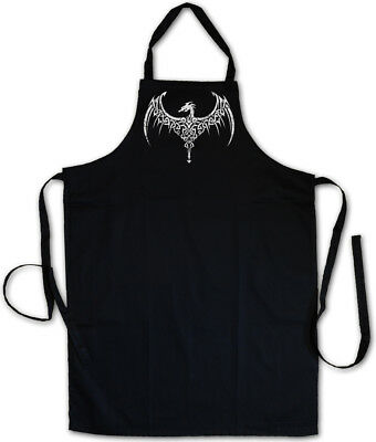 CELTIC DRAGON III BBQ COOKING APRON Celts Cross Religion Culture Sign