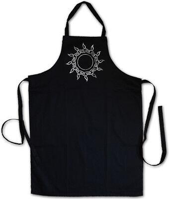 CELTIC SUN BBQ COOKING APRON Cross Celts Religion Symbol Sign Culture
