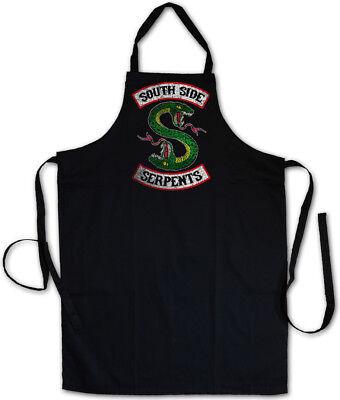 Side Grill-schürze (South Side Serpents Grillschürze Kochschürze Archie Snake Biker Mc Riverdale)