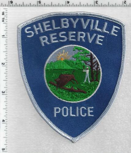 Shelbyville Police Reserve (Indiana) 1st Issue Shoulder Patch