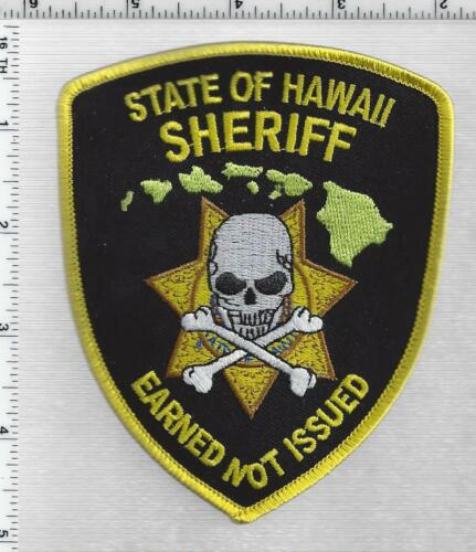 State of Hawaii Sheriff 2nd Issue Shoulder Patch