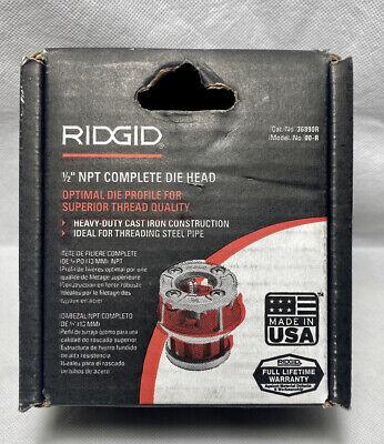 Ridgid 00-r 12 Capacity Npt Alloy Rh Manual Pipe Threader 36890r