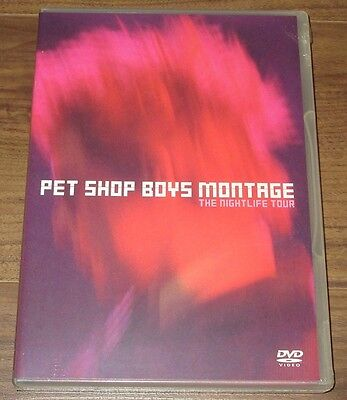 Sealed PROMO issue Pet Shop Boys JAPAN DVD official MORE LISTED Montage ORIGINAL