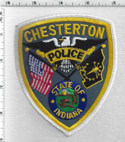 Chesterton Police (Indiana) 2nd Issue Shoulder Patch