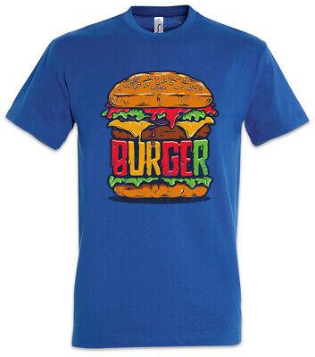 Burger T-Shirt Barbecue Grill Chef Bun Hamburger Cheeseburger Fun ()