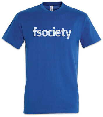 fsociety T-Shirt Computer Scientist Mr. Geek Nerd Admin Robot Hacker Symbol Logo](Mr Nerd)
