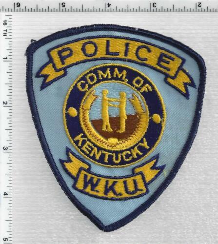 Western Kentucky University Police (Kentucky) 1st Issue Shoulder Patch