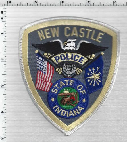 New Castle Police (Indiana) 4th Issue Shoulder Patch