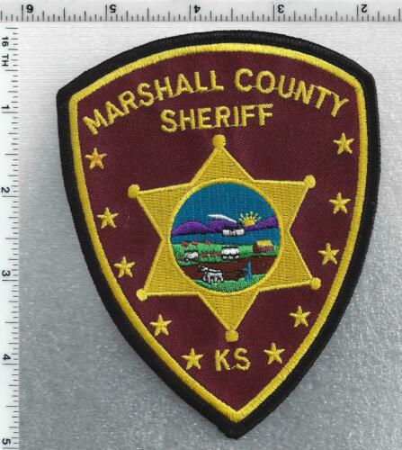 Marshall County Sheriff (Kansas) 1st Issue Shoulder Patch