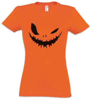 GLOWING HALLOWEEN PUMPKIN III Women T-Shirt Horror Trick or Treat Samhain USA