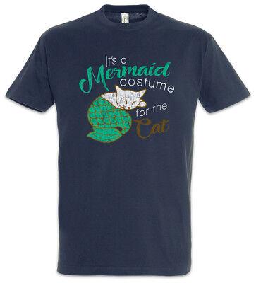 -Shirt Cameron Family Katze Fun Meerjungfrauen Kostüm Katzen (Erwachsene Katze Frau Kostüm)