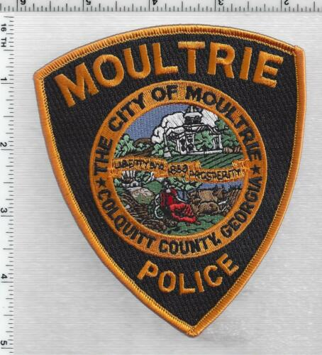 City of Moultrie Police (Georgia) 3rd Issue Shoulder Patch