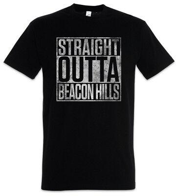 Straight Outta Beacon Hills T-Shirt Fun Teen Scott Wolf McCall Allison Lobo