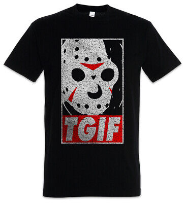 13th Friday T-Shirt the Jason Freitag Halloween 13th Fun Thank God it's der 13.