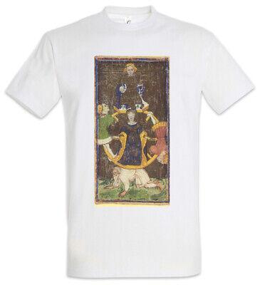 Tarot Arcanum Wheel of Fortune T-Shirt Card Logo Das Rad des Schicksals The