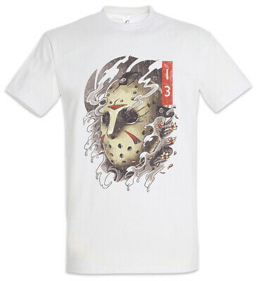 13th Portrait T-Shirt Jason Friday Halloween Maske the 13th Blood Face Mask