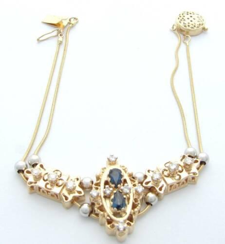KLEIN DIAMOND SAPPHIRE SLIDE BRACELET KLJCI